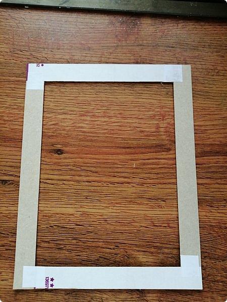 Предлагаю сделать рамку для фотографии 15х20 см  из самых простых и доступных материалов.  Вставила фото моего дяди, маминого старшего брата. фото 4