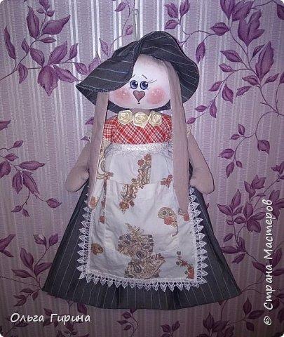 Привет всем,опять я пропадала,но не бездельничала,нашила кукол ,они уже все благополучно раздарены:-)Сшила куклу по мотивам аргентинских кукол. фото 8
