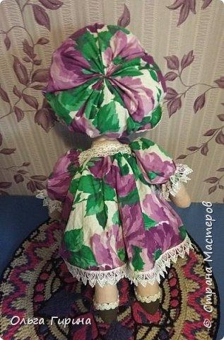 Привет всем,опять я пропадала,но не бездельничала,нашила кукол ,они уже все благополучно раздарены:-)Сшила куклу по мотивам аргентинских кукол. фото 3