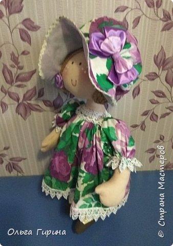 Привет всем,опять я пропадала,но не бездельничала,нашила кукол ,они уже все благополучно раздарены:-)Сшила куклу по мотивам аргентинских кукол. фото 7