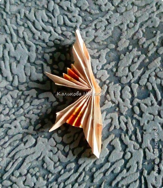 На просторах интернета наткнулась на симпатичных бабочек, которые делаются просто, но смотрятся оригинально. Попробуем сделать? фото 11
