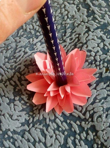 Вот какие пышные , или как говорят цветоводы- махровые, цветы научимся делать сегодня. фото 10