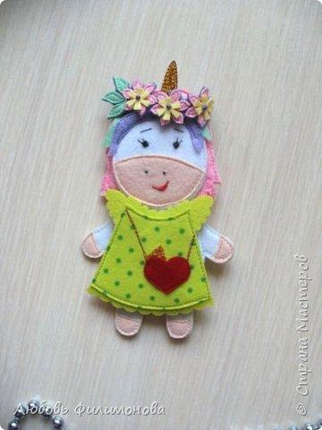 Закончила шить  подарок для Василины  -  встречайте новая героиня единорожка  Молли, милая, красивая. фото 10