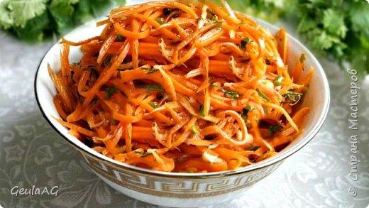 Всем привет! Морковь по-корейски Приготовление займет всего 5 минут вашего времени.