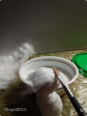 Добрый вечер, мастера и мастерицы! У меня - ватные котейки. Конечно. сейчас очень много МК по ватной игрушке. Но может кому-то пригодится. Увидел фото   в интернете - сделал копию из ваты. фото 24