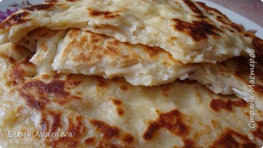 Хачапури быстрые на сковороде из кобласного сыра