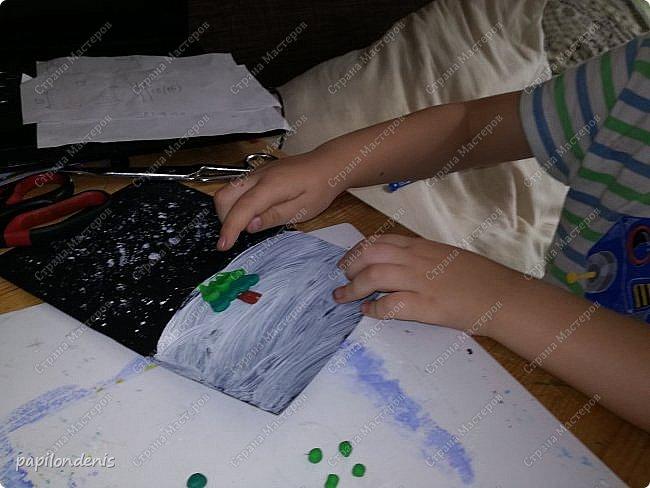 """Здравствуйте. Есть такой проект """"Гамма для образования"""". Я недавно проходила там курсы-марафон """"Гамма творчества"""". Основное направление - работа с детьми. Поэтому все работы марафона старалась делать совместно с сыном. И вот что у нас получилось  :-) фото 3"""