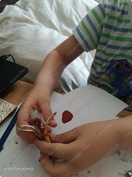 """Здравствуйте. Есть такой проект """"Гамма для образования"""". Я недавно проходила там курсы-марафон """"Гамма творчества"""". Основное направление - работа с детьми. Поэтому все работы марафона старалась делать совместно с сыном. И вот что у нас получилось  :-) фото 8"""