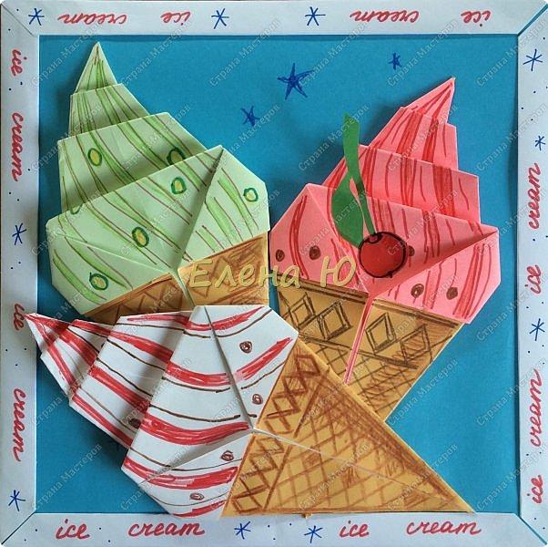 Кто же летом откажется от мороженого?