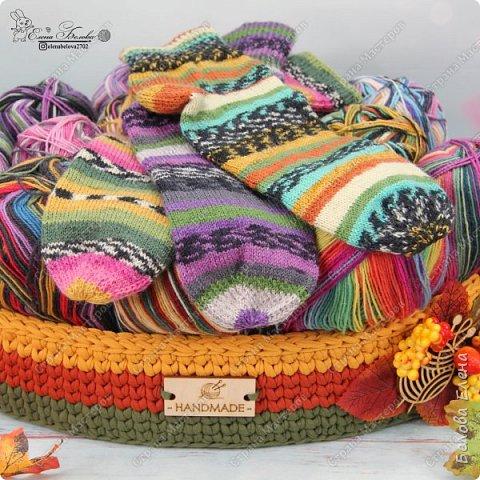 Осенне-носочное вязание