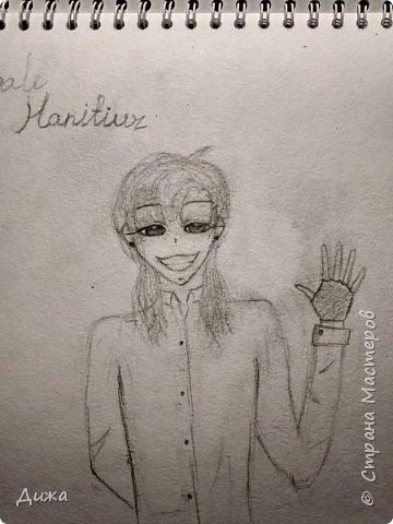 Всем привет!  Моё новое увлечение это рисование по новеллам и манге (восточные комиксы) :-) Участвовала в одном флэшмобе и решила нарисовать этого персонажа в роли русалки, хотя по жизни он человек (герой манги)  Ниджимасу Нанайро фото 7