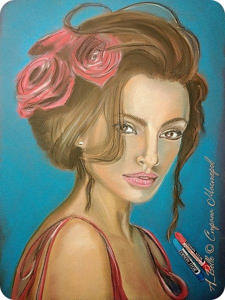 Приветствую любителей живописи и портретов)) Сегодня делю с вами очередным портретом с бесплатного онлайн-марафона моей наставницы  Елены Рябцевой. Хочу отметить, что на ее марафоне получалось даже у новичков))