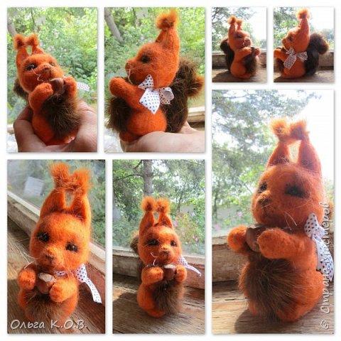 Шесть валяных игрушек фото 4
