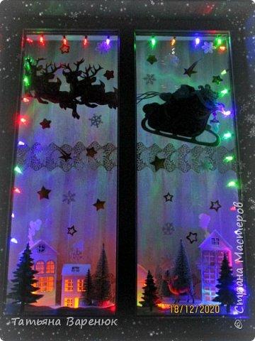 А Тем Временем Декабрьское Настроение Плавно Перерастало в Новогоднее...🎅🍊🍫❄🎄🎁⛄✨  Ура!!! Наши окна готовы встречать Новый год!!!😄✨❄🎄🎅⛄ Вот такую зимнюю сказку создали мы вместе моим любимым сыночком...👩👦💖🎨✂✏📐  Мы верим в чудеса и сказки, Зимой особенно их ждём... Не закрывайте, люди, двери - Пусть волшебство войдёт в ваш дом...✨🌙🎅🏠🎄🎊  Новогоднее чудо можно ждать, а можно создавать своими руками!!! Не ждите у моря погоды. Создавайте свою погоду сами, как внутри себя, так и вокруг! 😘🌙✨🏠🎄⛄   фото 21