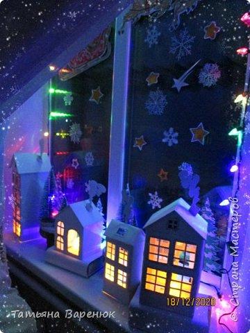 А Тем Временем Декабрьское Настроение Плавно Перерастало в Новогоднее...🎅🍊🍫❄🎄🎁⛄✨  Ура!!! Наши окна готовы встречать Новый год!!!😄✨❄🎄🎅⛄ Вот такую зимнюю сказку создали мы вместе моим любимым сыночком...👩👦💖🎨✂✏📐  Мы верим в чудеса и сказки, Зимой особенно их ждём... Не закрывайте, люди, двери - Пусть волшебство войдёт в ваш дом...✨🌙🎅🏠🎄🎊  Новогоднее чудо можно ждать, а можно создавать своими руками!!! Не ждите у моря погоды. Создавайте свою погоду сами, как внутри себя, так и вокруг! 😘🌙✨🏠🎄⛄   фото 29