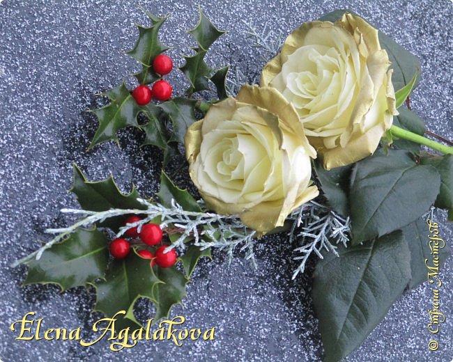 С наступающим Новым годом и Рождеством! Еще немного новогодних композиций из живых цветов от меня для поднятия настроения! Всем желаю здоровья и душевного равновесия! фото 8