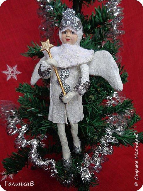 Всем привет! Сегодня закончила второго ангела. Это подарок очень хорошему человеку. фото 1