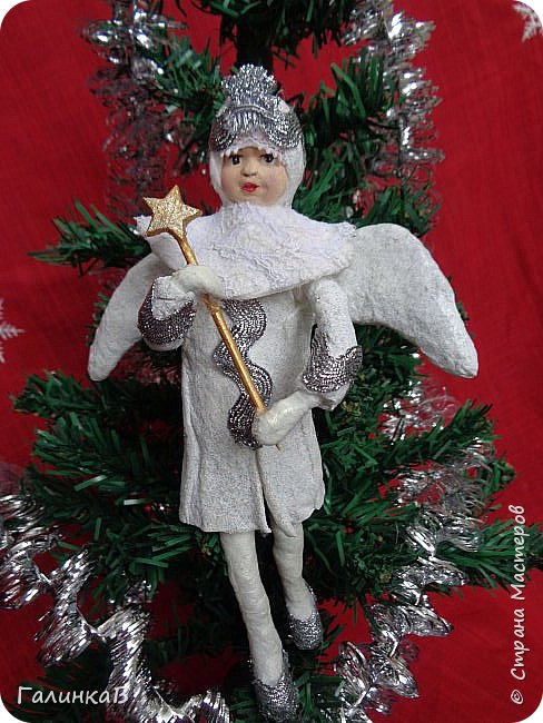 Всем привет! Сегодня закончила второго ангела. Это подарок очень хорошему человеку. фото 2