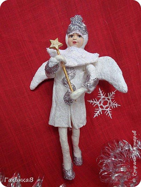 Всем привет! Сегодня закончила второго ангела. Это подарок очень хорошему человеку. фото 4