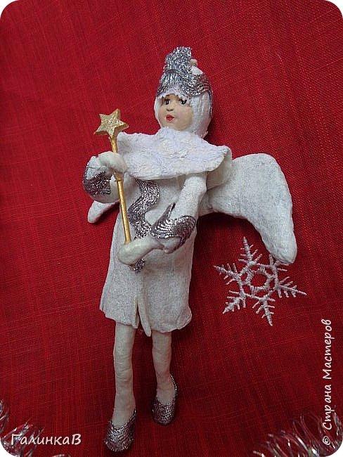Всем привет! Сегодня закончила второго ангела. Это подарок очень хорошему человеку. фото 3