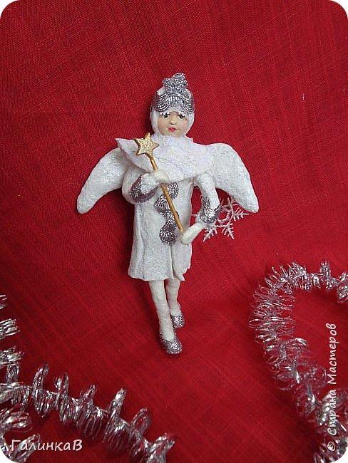 Всем привет! Сегодня закончила второго ангела. Это подарок очень хорошему человеку. фото 5