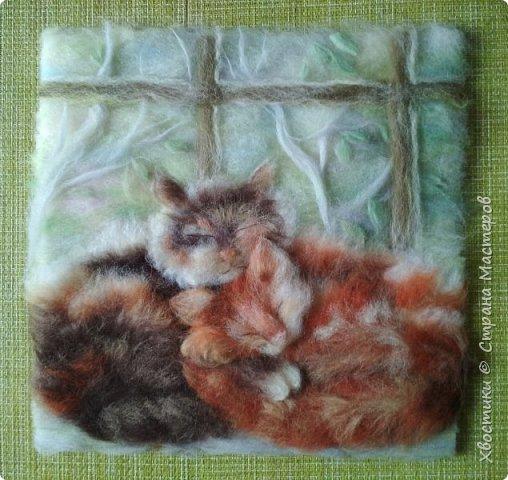 Вот мои шерстяные котики :)