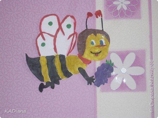 Аппликация: Пчёлка Майя фото 2