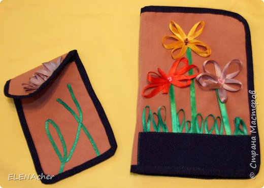 Шитьё: Подарок для подружки( чехол для телефона, обложка для книги)