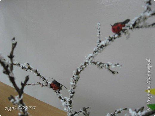 Снеговичок под елочкой фото 2
