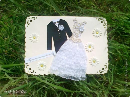 Свадебное приглашение фото 2