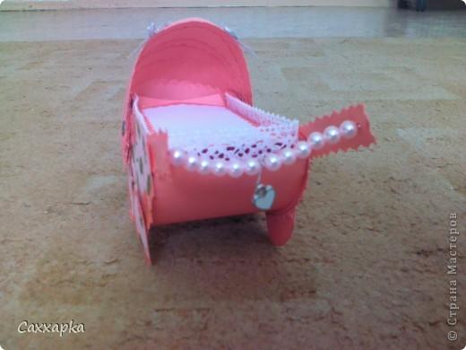 Вот сделала коляску на день младенцев (2 августа). фото 4