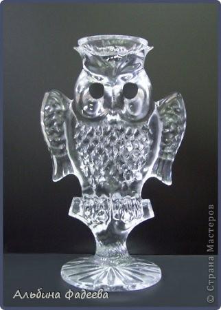 """""""Хрустальная сова"""" - приз, который вручается лучшему игроку телевизионной программы """"Что? Где? Когда?"""" """"Почему именно сова?"""", - спросите Вы. Сова - символ мудрости и ума. В греко-римской традиции сова символизировала мудрость и была спутницей и атрибутом богини Афины (Минервы). Сова Афины — птица ночная, птица тьмы и леса. Сова встречается в качестве атрибута аллегорических фигур Ночи и Сна. Во всех русских сказках Сова - персонаж, к которому всегда приходят за мудрым советом. Она обычно изображается с полузакрытыми глазами и втянутой головой.  фото 6"""