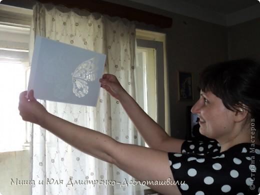Листок бумаги... ОЖИВАЕТ! И бабочкой вокруг порхает! Вот это диво, чудеса! Из рук порхает в небеса!  автор четверостишия  Юлия Дмитренко-Деспоташвили фото 5