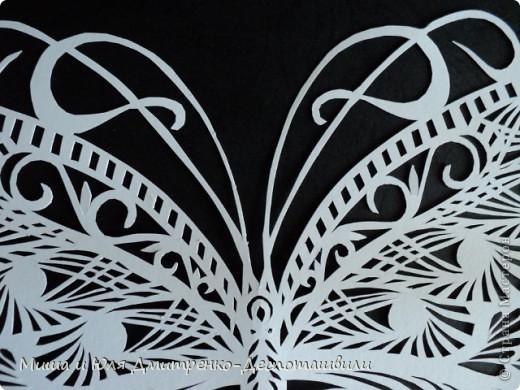 Листок бумаги... ОЖИВАЕТ! И бабочкой вокруг порхает! Вот это диво, чудеса! Из рук порхает в небеса!  автор четверостишия  Юлия Дмитренко-Деспоташвили фото 6