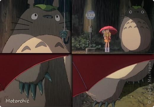 """В честь Дня валенок решила свалять из шерсти героя мультфильма Хаяо Миядзаки 1988 года """"Мой сосед Тоторо"""", духа леса, самого Тоторо. фото 8"""