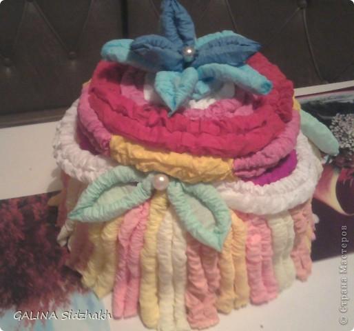 Вот такой тортик испекла! фото 1