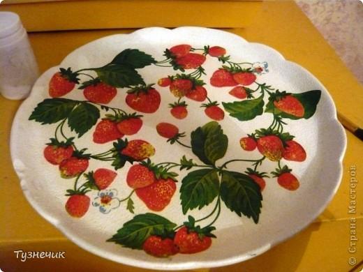 Скоро настанет пора клубники и других ягод...а у меня для ягод не было подходящего блюда... А теперь есть)))) фото 2