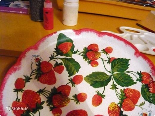 Скоро настанет пора клубники и других ягод...а у меня для ягод не было подходящего блюда... А теперь есть)))) фото 3