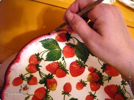 Скоро настанет пора клубники и других ягод...а у меня для ягод не было подходящего блюда... А теперь есть)))) фото 4
