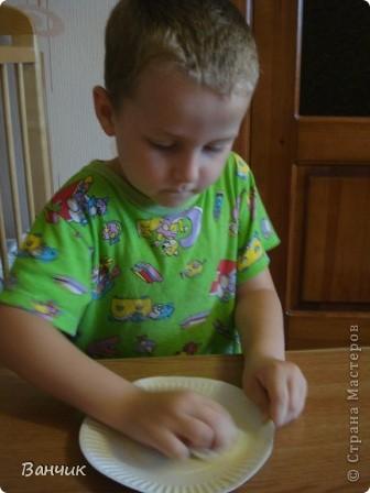 Мне достался день листопада, который приходится на 27 августа - день Михея-Тиховея. Я решил сделать осеннюю тарелочку. фото 3