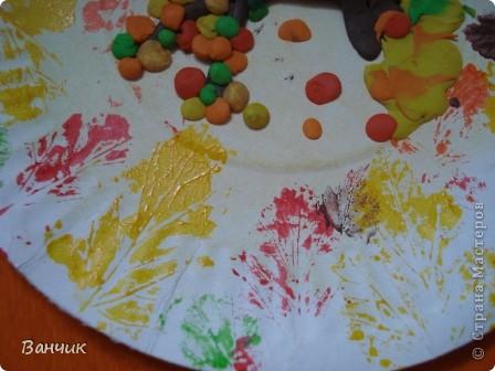 Мне достался день листопада, который приходится на 27 августа - день Михея-Тиховея. Я решил сделать осеннюю тарелочку. фото 10