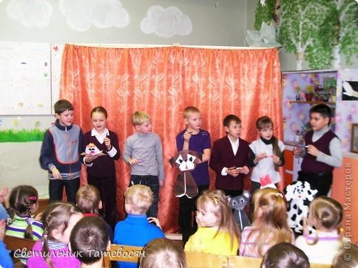 """Вот таких кукол-марионеток сделали мои ребятки для спектакля """"Кто сказал """"Мяу""""?"""" В.Г.Сутеева. фото 5"""