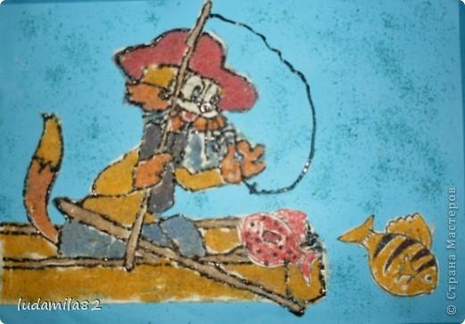 Леопольд  отправился на рыбалку. фото 1