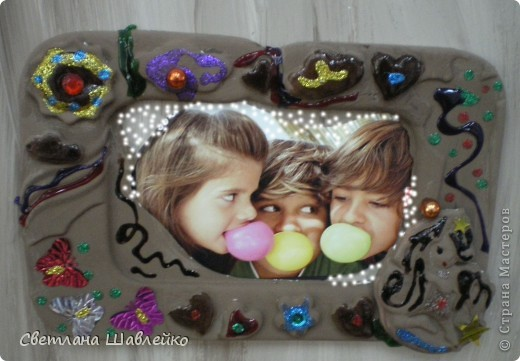 """Шоколадная"" рамка фото 9"