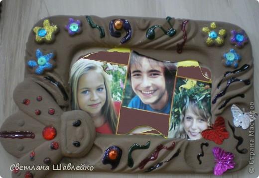"""Шоколадная"" рамка фото 1"