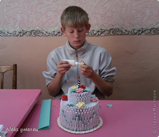 """""""Цветочный"""" торт фото 5"""
