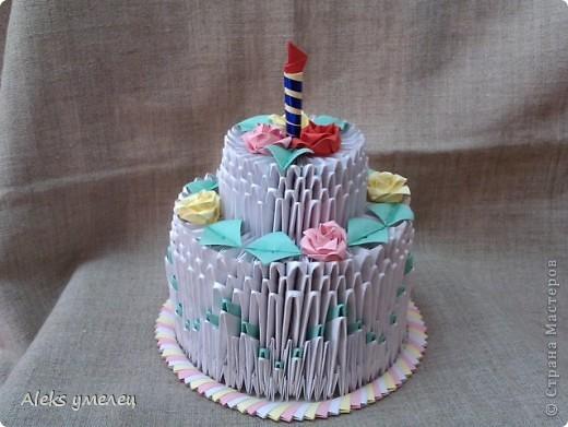 """""""Цветочный"""" торт фото 1"""