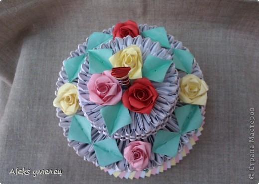 """""""Цветочный"""" торт фото 2"""