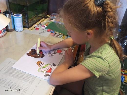 Сладкоежка - это тот кто любит сладкое. В мультфильмах так много сладкоежек. Я собрала их вместе, чтобы устроить настоящий праздник. фото 3