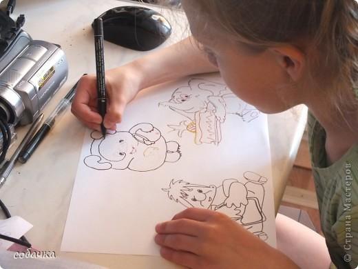 Сладкоежка - это тот кто любит сладкое. В мультфильмах так много сладкоежек. Я собрала их вместе, чтобы устроить настоящий праздник. фото 2